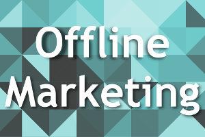 Offline Marketing: Wer strategisch vorgeht, spart Geld.